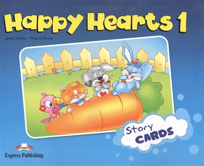 Evans V., Dooley J. Happy Hearts 1. Story Cards evans v dooley j happy hearts 1 picture flashcards