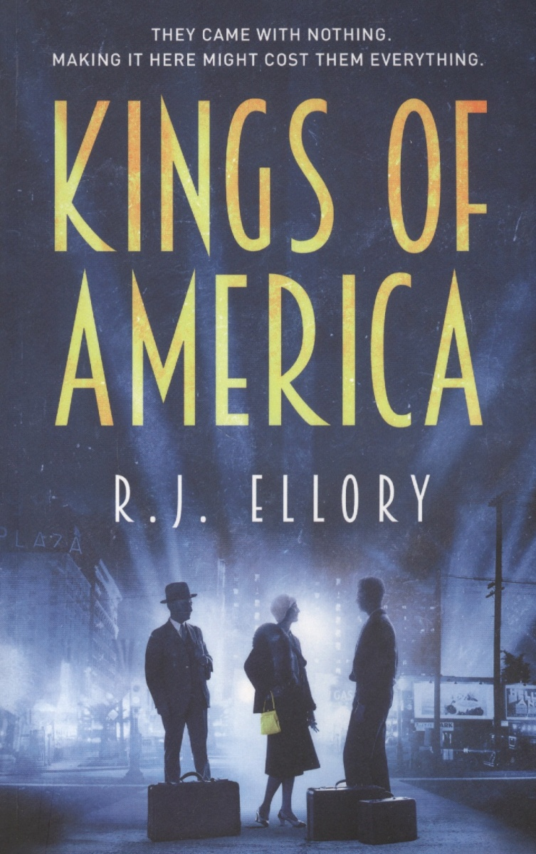 Ellory R. Kings of America riggs r library of souls