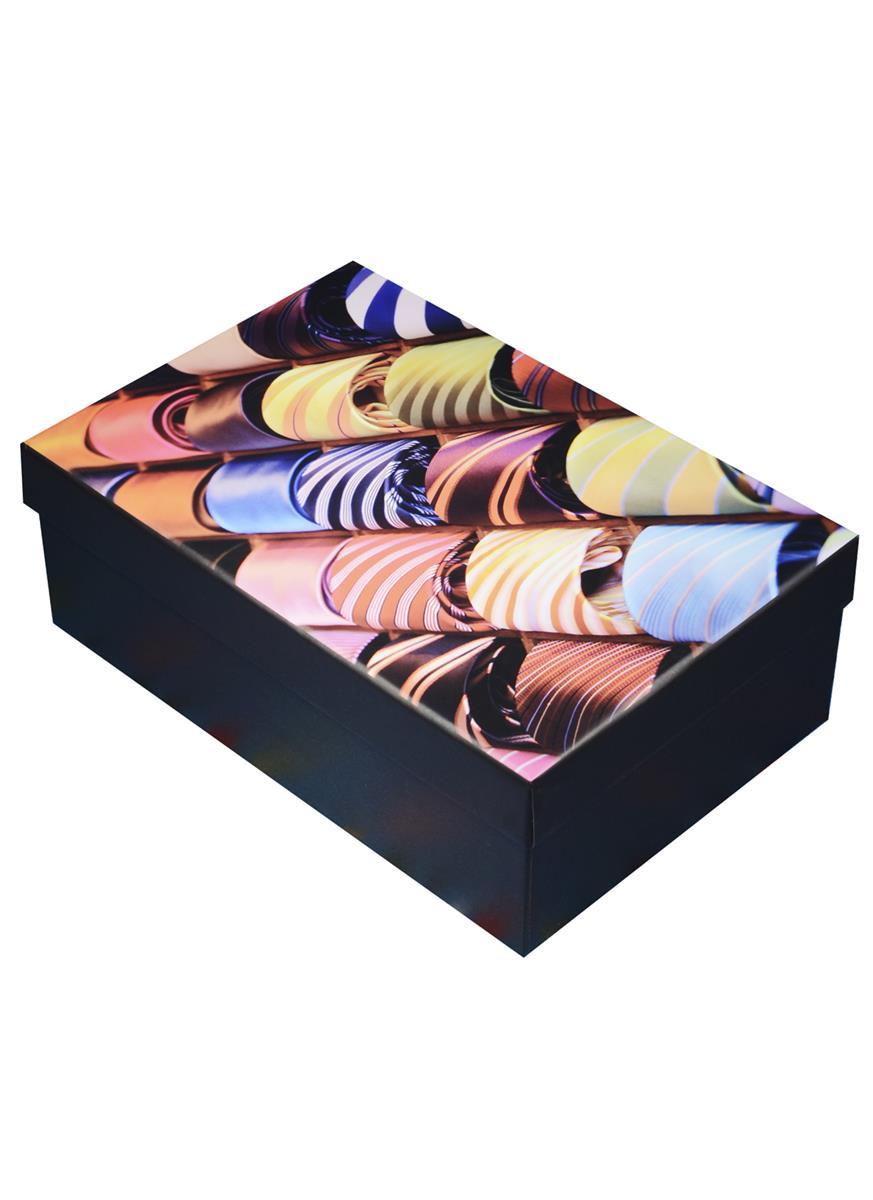 "Коробка подарочная ""Галстуки"" 18*12*7см, картон"
