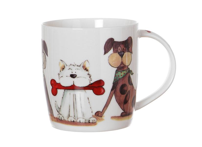 Кружка Смешные собаки (380мл) в подарочной упаковке (260-103) (Авангард)