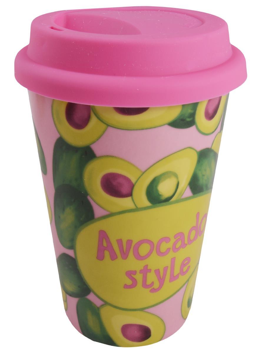 Стакан керамический Avocado style (ПВХ бокс)