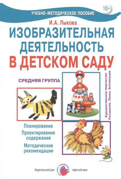 Изо. деятельность в д/саду Средняя группа