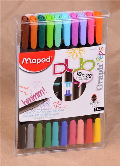 Ручки капиллярные 20цв
