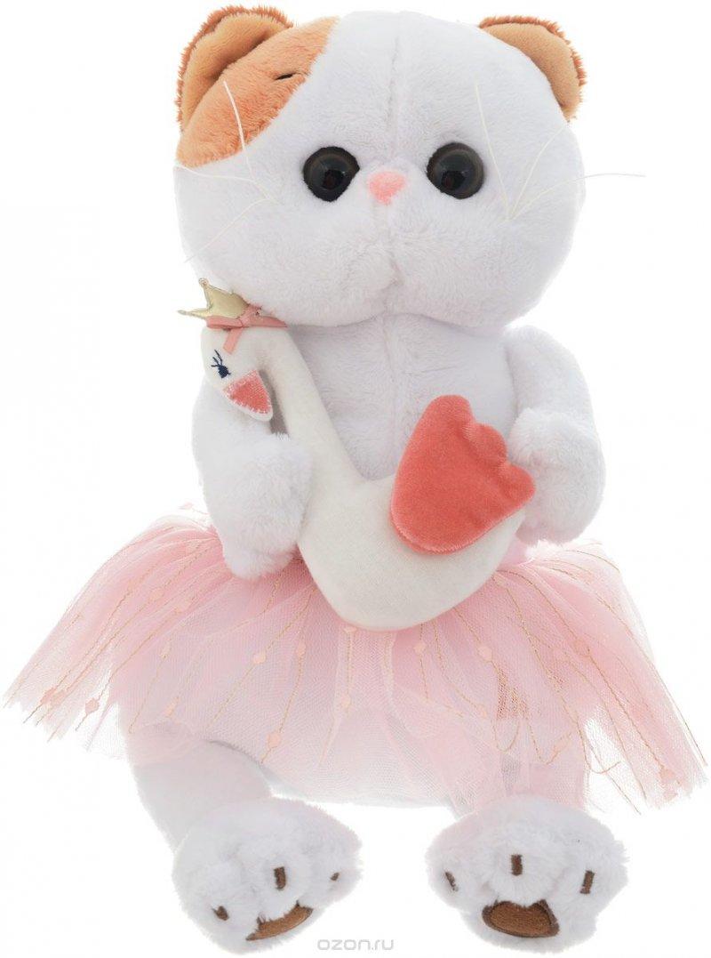 Мягкая игрушка Ли-Ли балерина с лебедем (24 см)