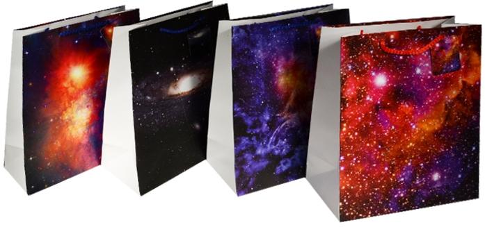 "Пакет подарочный бумажный ""Space"", А4"