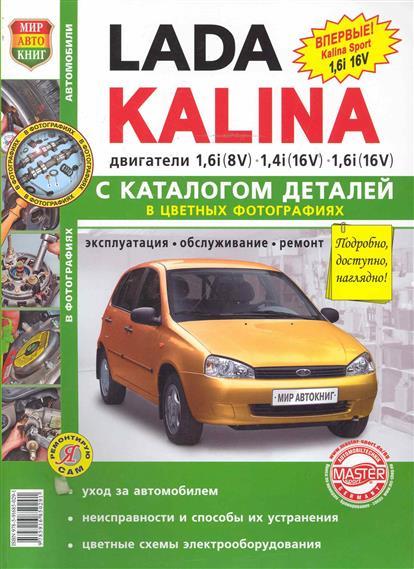 Lada Kalina  с каталогом деталей namat бра namat 2291 kalina