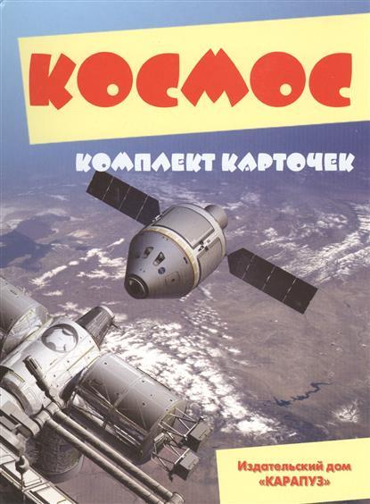 Савушкин С. (ред.) Космос. Комплект карточек савушкин с ред лето 12 карточек с текстами и рекомендациями