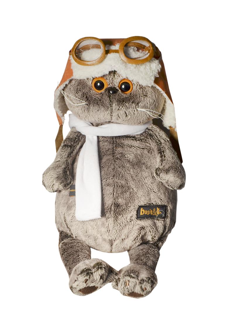Мягкая игрушка Басик в шлеме и шарфе (30см) (Ks30-009) (Буди Баса)