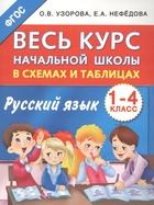 Русский язык. 1-4 классы. Весь курс начальной школы в схемах и таблицах.