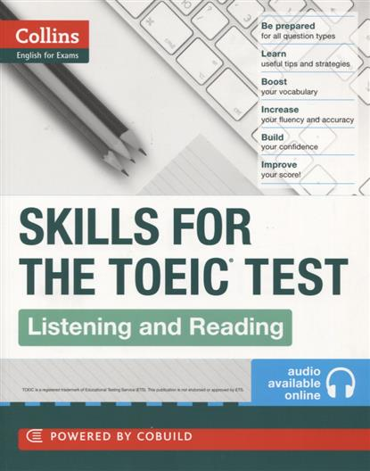 Skills for the TOEIC Test. Listening and Reading williams a research improve your reading and referencing skills b2
