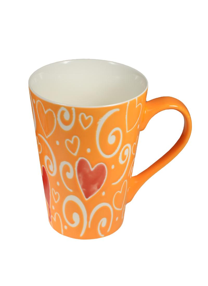 Кружка Любовь-морковь 450 мл в подарочной упаковке (356-172)