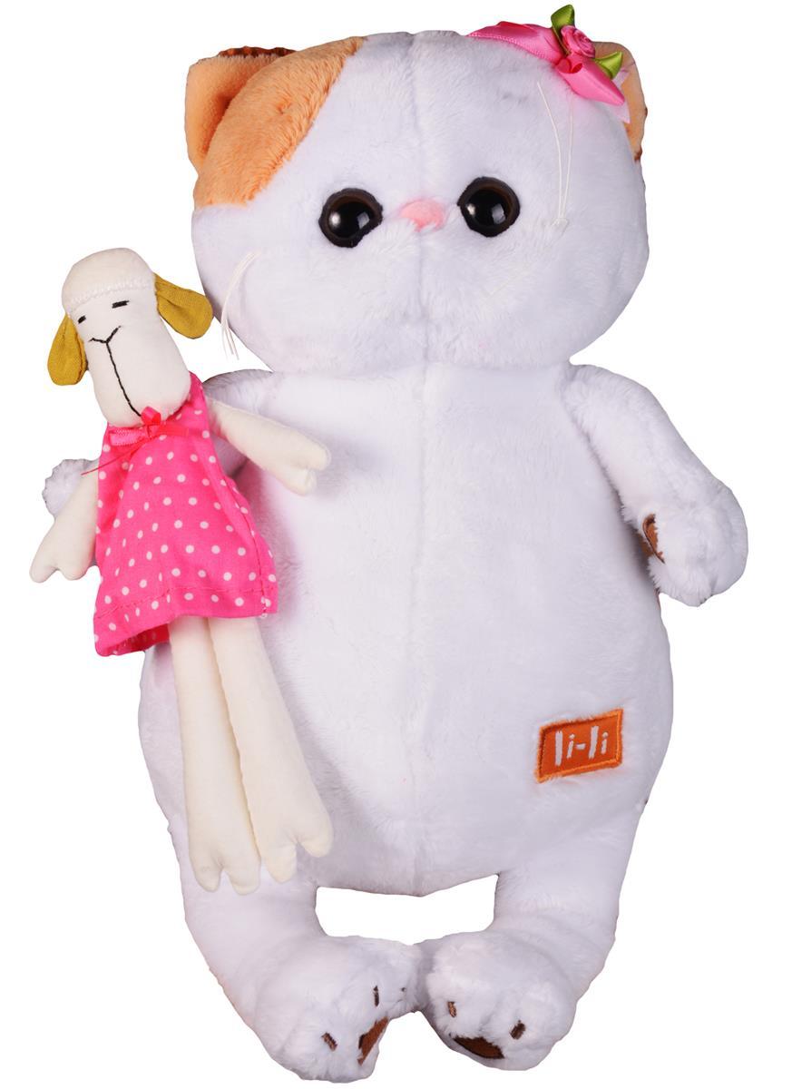 Мягкая игрушка Ли Ли с овечкой (24 см)