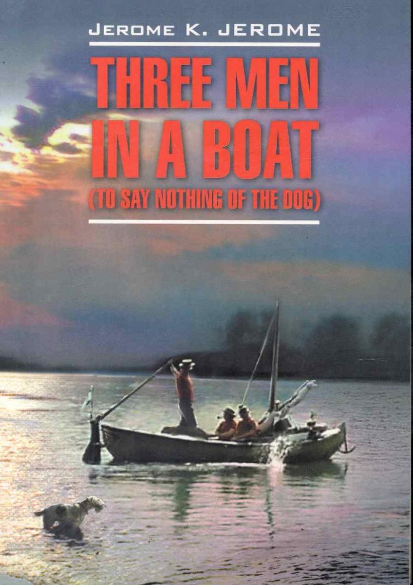 Джером К. Дж. Three men in a boat trendy boat neck cap sleeve floral print a line zipper women dress