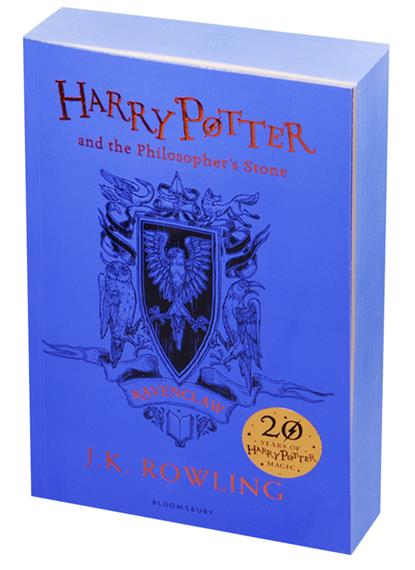 Rowling J.K. Harry Potter and the Philosopher's Stone - Ravenclaw Edition Paperback harry potter and the half blood prince