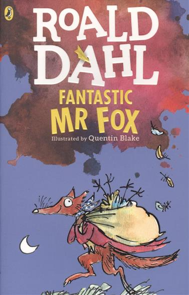 Dahl R. Fantastic Mr. Fox drawing fantastic furries