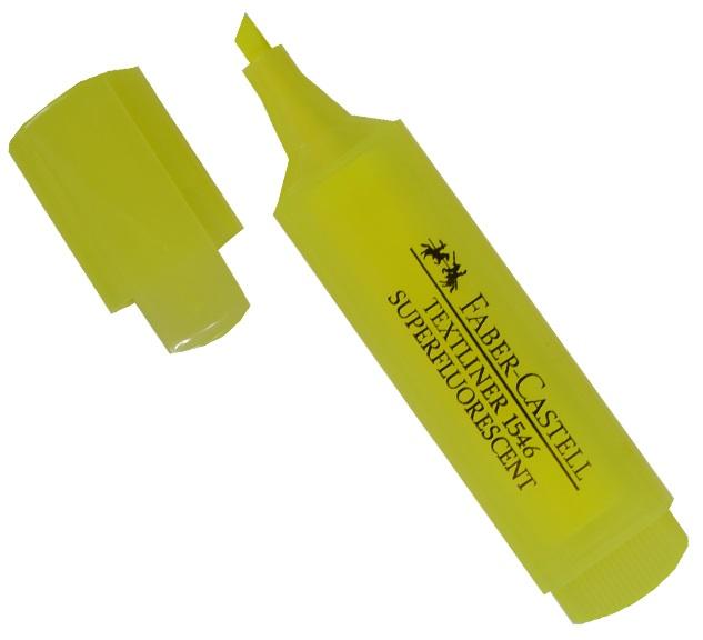 Текстовыделитель желтый, Faber-Castell
