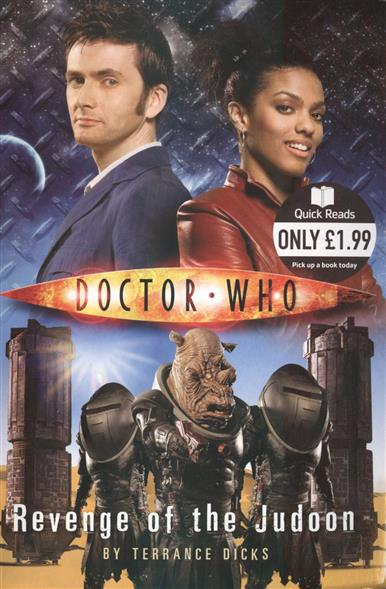 Dicks T. Doctor Who: Revenge of the Judoon футболка рингер printio доктор кто doctor who