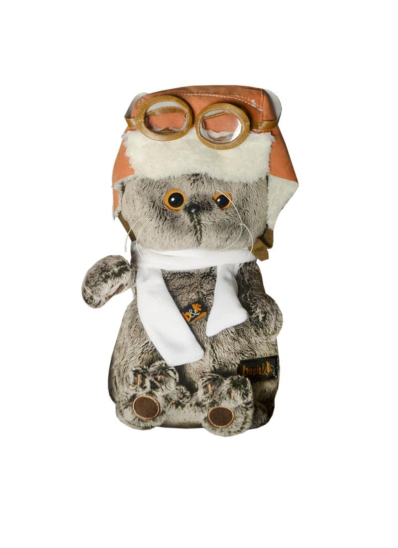 Мягкая игрушка Басик в шлеме и шарфе (25см) (Ks25-009) (Буди Баса)