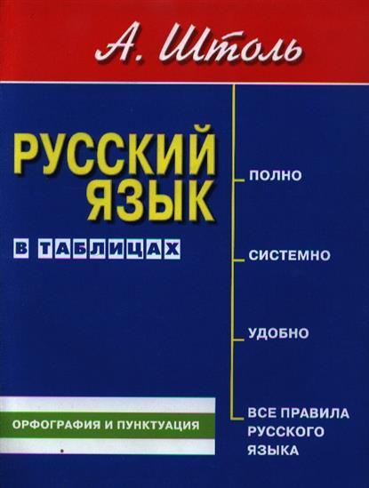 Штоль А. Русский язык в таблицах. Орфография и пунктуация