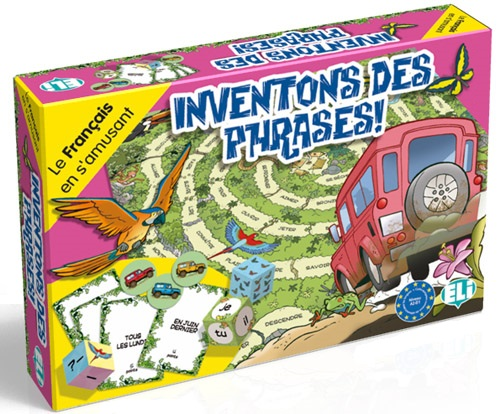 Games: [A2-B1]: Inventons Des Phrases!