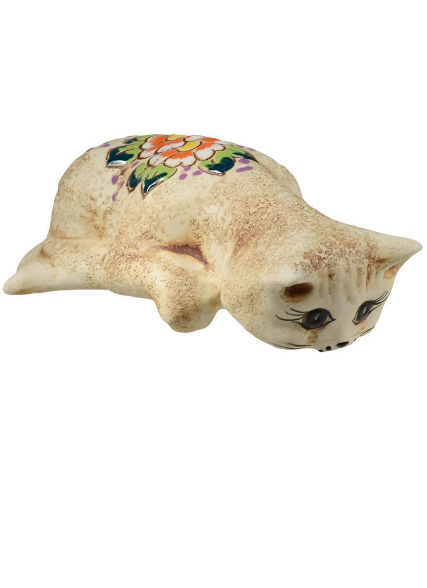 Сувенир Кошка Варька подглядывает (11 см)