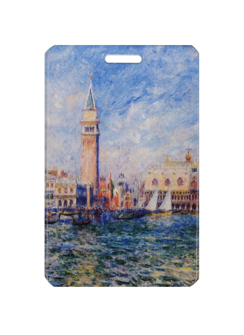 Чехол для карточек Пьер Огюст Ренуар Дворец Дожей в Венеции