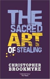 Brookmyre C. The sacred art of stealing kickass kuties the art of lisa petrucci