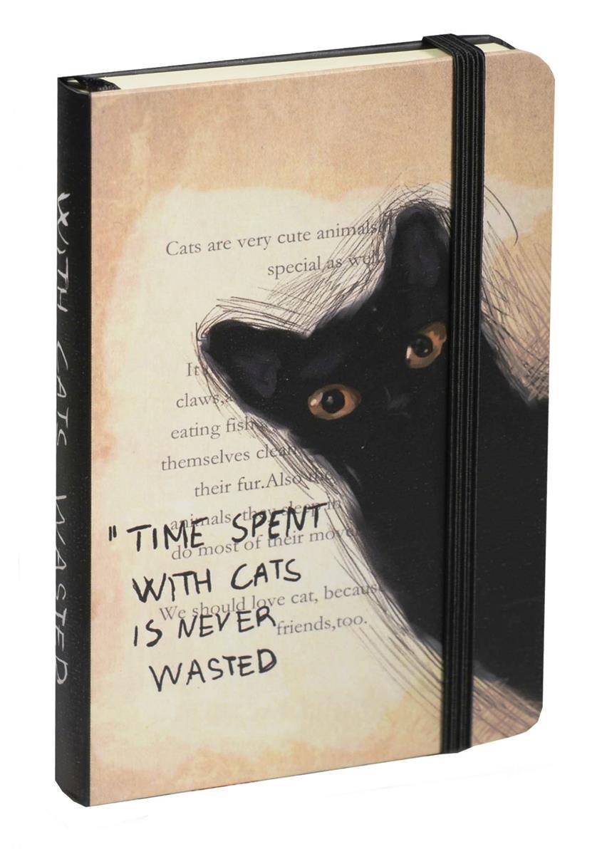 """Блокнот """"Кошки: With Cats"""", 9х14"""