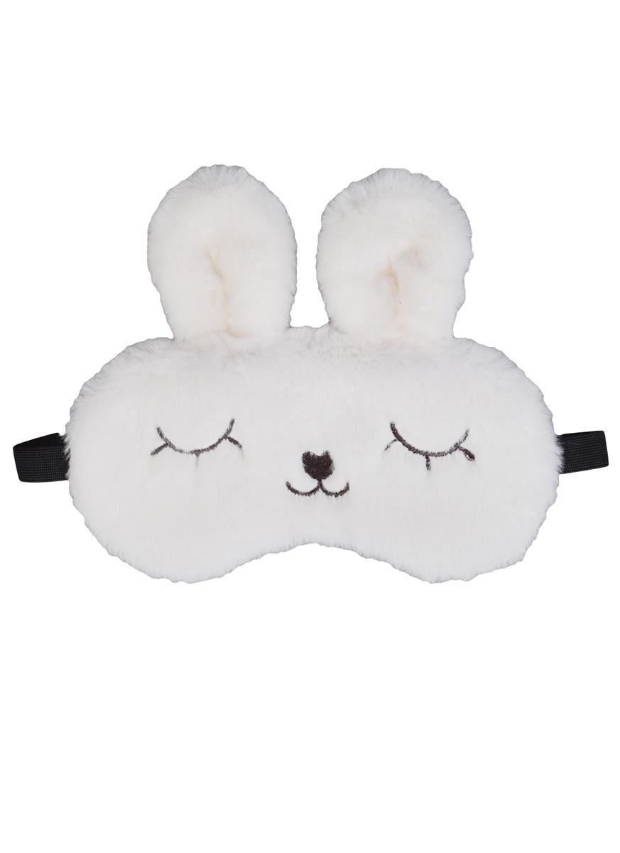 """Маска для сна """"Кролик плюшевый"""""""