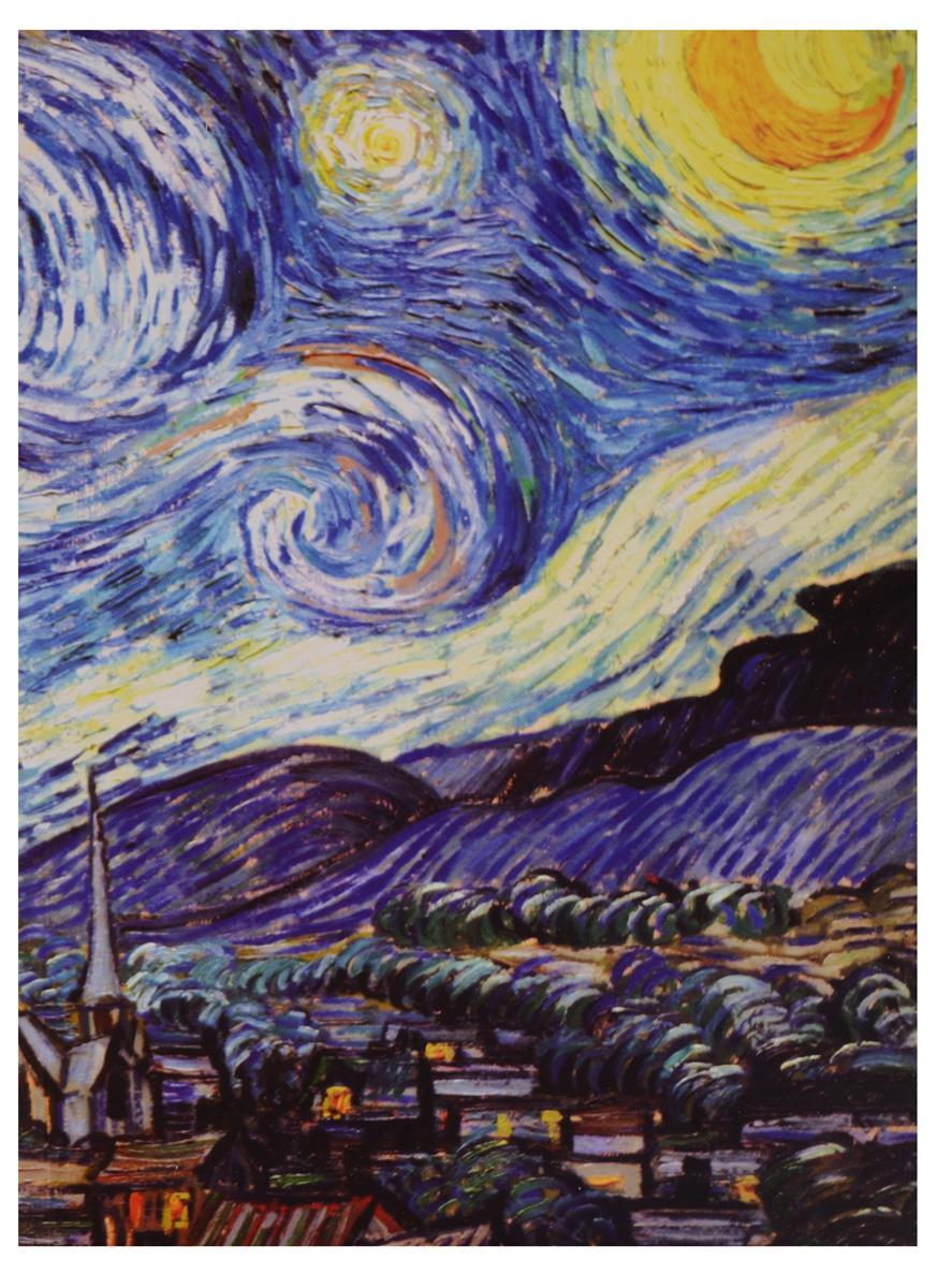 Sketchbook Винсент Ван Гог Звездная ночь (80л) (19х25)