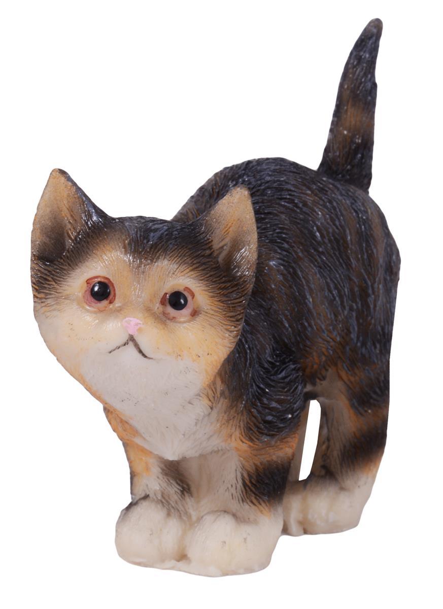 """Фигурка """"Кошечка серая в полоску"""", 7,5 см"""