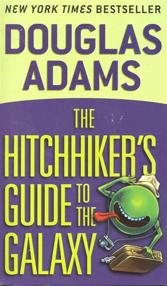 Adams D. The Hitchhiker's Guide to the Galaxy the rough guide to conspiracy theories