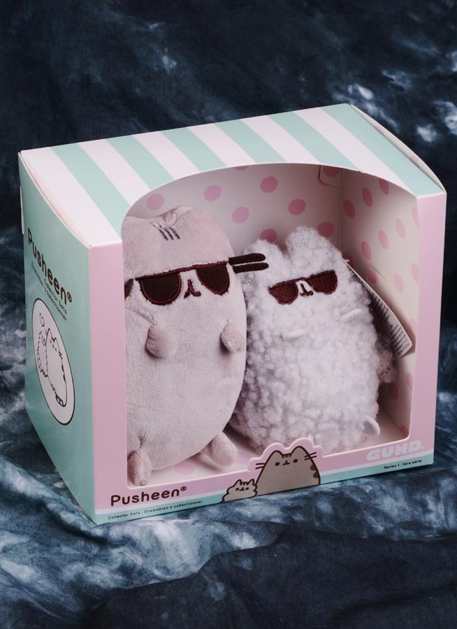Котик Pusheen и Stormy набор Солнечные очки