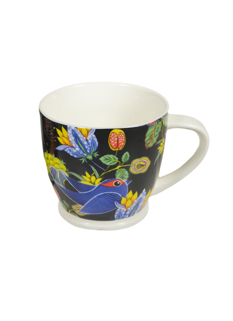 Кружка Птичка синяя в подарочной упаковке (400мл) (153-620) (Авангард)