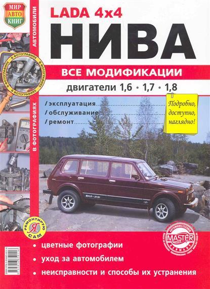 Автомобили Нива всех модиф. с двиг. объемом 1,6, 1,7 и 1,8 л.