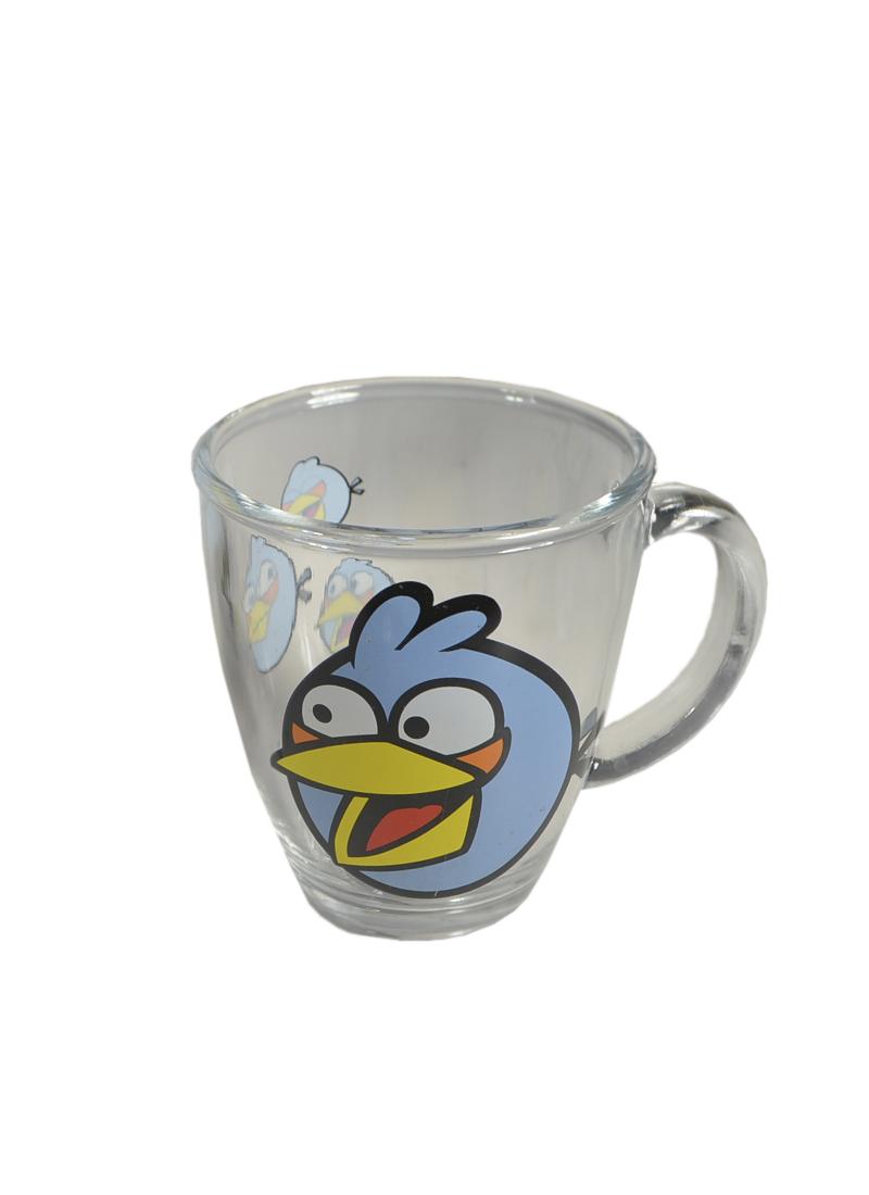 Angry Birds стеклянная кружка в коробке (голубая) (300мл) (СР Дистрибуция)