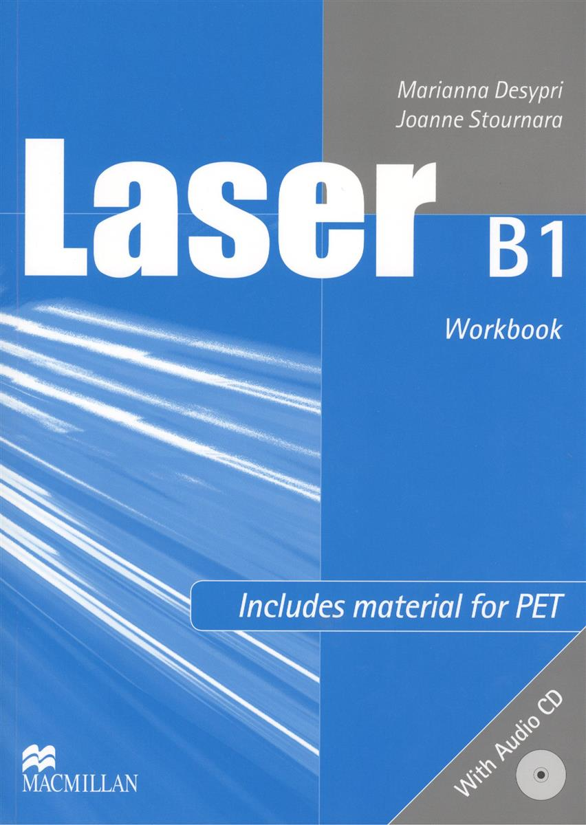 Desypri M., Stournara J. Laser B1 Workbook (+CD) laser a2 workbook with key cd