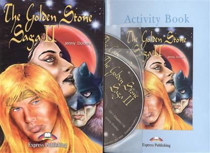 Dooley J. The Golden Stone Saga II. Reader (+ Activity Book + 2 Audio CD). Книга для чтения dooley j kerr a the ant