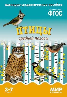 цены Минишева Т. Птицы средней полосы. Наглядно-дидактическое пособие