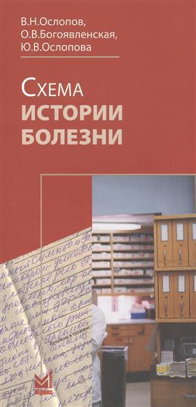Схема истории болезни. Книга-вкладыш (комплект из 2 книг)