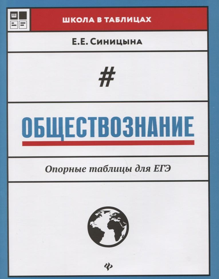 Синицына Е. Обществознание. Опорные таблицы для ЕГЭ опорные ролики для откатных ворот