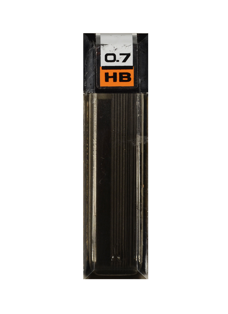 Грифели 0,7мм HB (12 шт) пл. пенал , CENTRUM