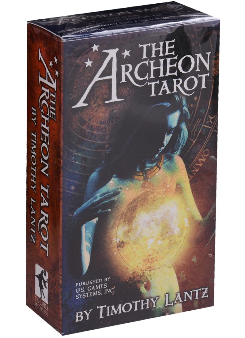 Lantz T. The Archeon Tarot / Археон Таро (карты + инструкция на английском языке) магические послания богинь 44 карты инструкция