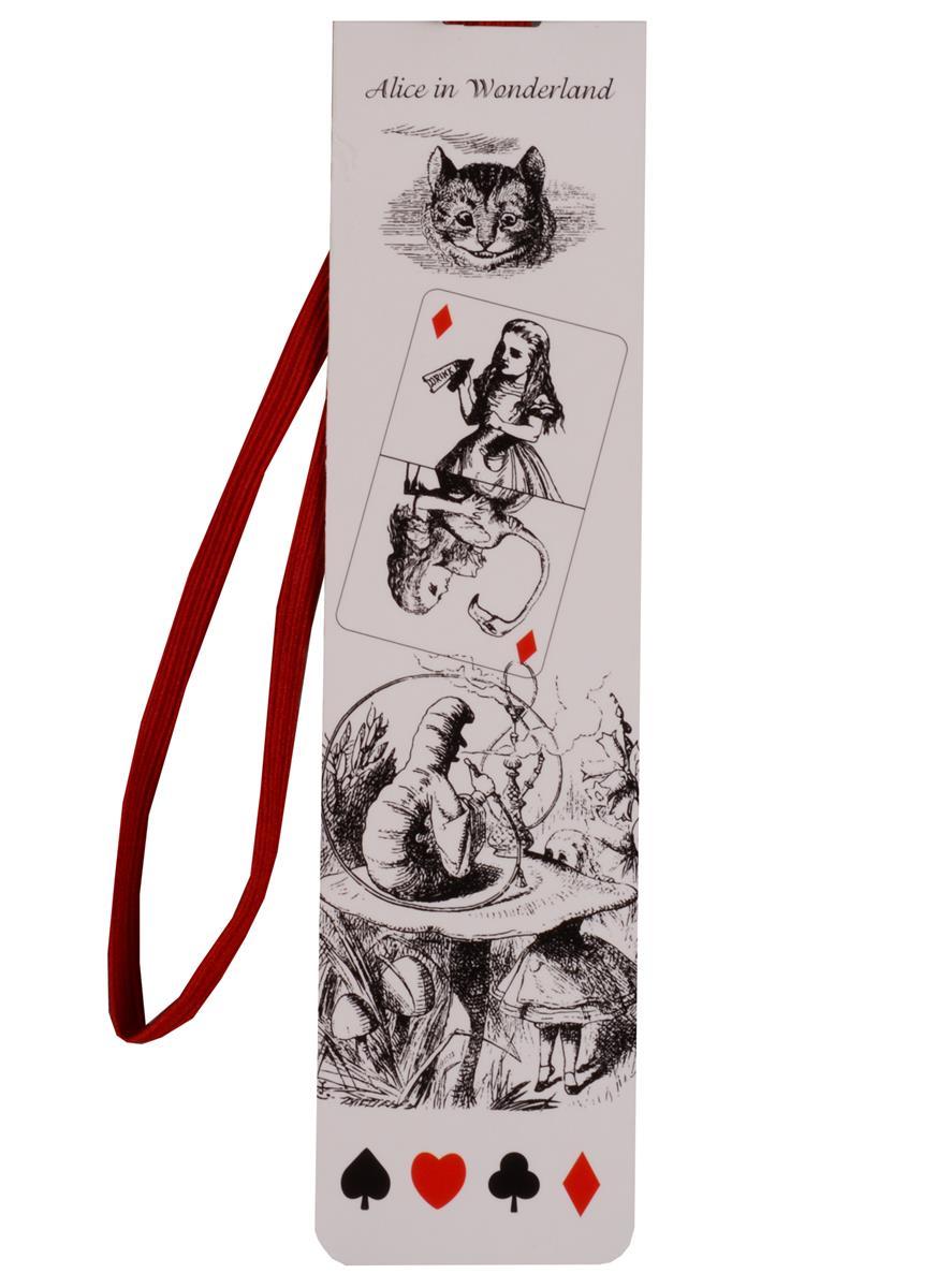 Закладка с резинкой Алиса в стране чудес (ЗР2017-015)