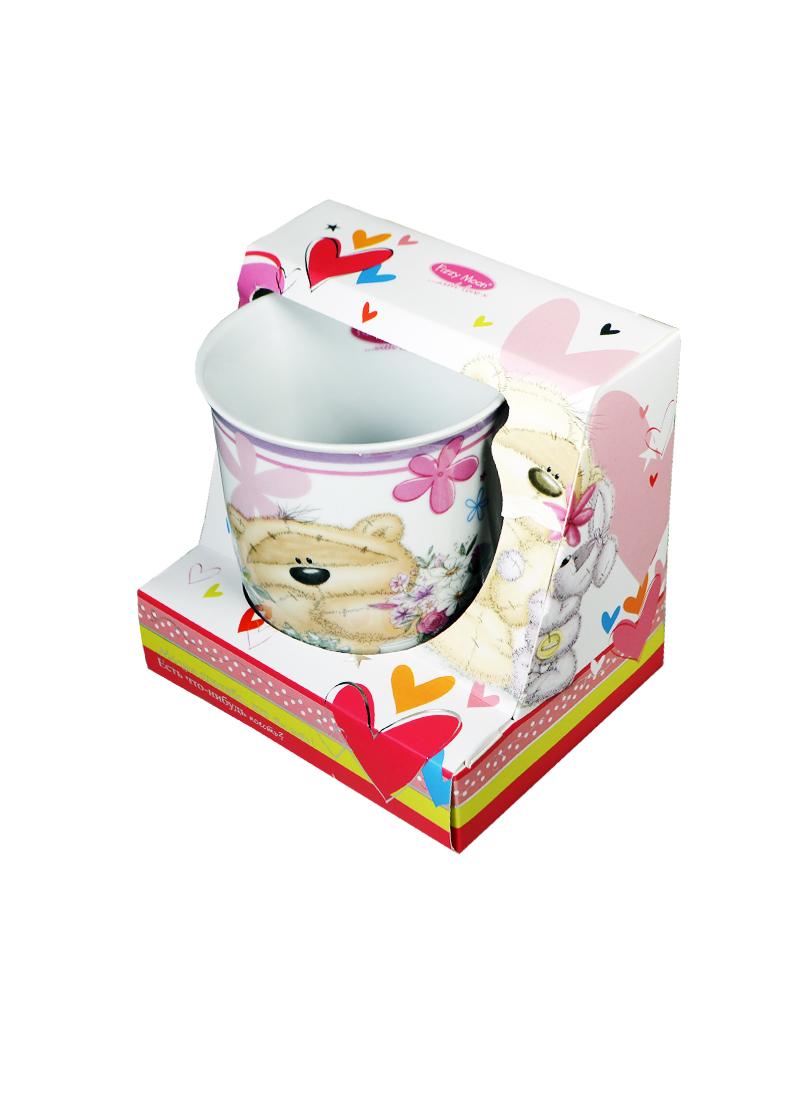 Кружка керамическая Fuzzy Moon (Любимой маме) (0633.368) (в подароч.упаковке) (Артицентр)