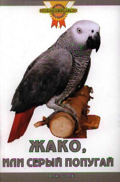 Соле де А. Жако или серый попугай