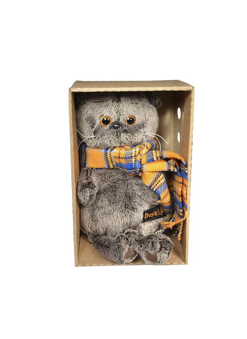 Мягкая игрушка Басик клеточка (22 см) (Ks22-002) (Буди Баса)