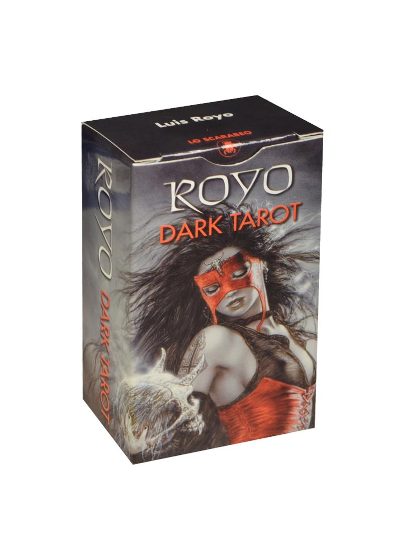 Мини Таро Ройо (Dark Royo Tarot) (на 5 языках: английский, итальянский, испанский, французский, немецкий) (MD24) (Аввалон) простой способ выучить 5 языков английский немецкий французский испанский итальянский комплект из 5 книг в упаковке