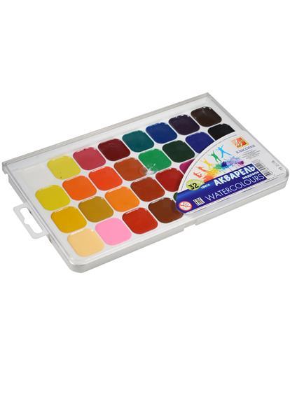Краски акварельные 32цв