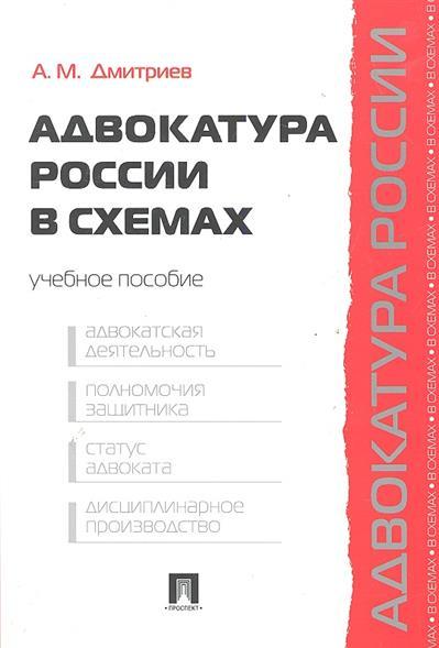 Адвокатура России в схемах Учеб. пос.